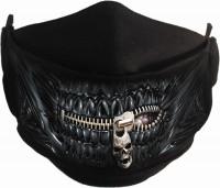 Zipped Mouth Gesichtsmaske verstellbar