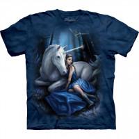 Blue Moon Anne Stokes Unicorn T Shirt