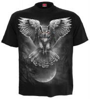 Wings Of Wisdom T-Shirt schwarz