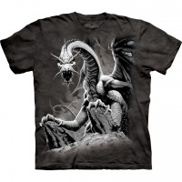 Black Dragon Dragons T-Shirt