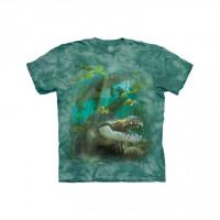 Alligator Swim Aquatic Reptile T-Shirt