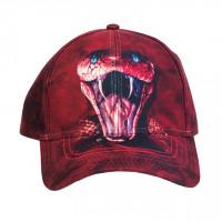 Baseball Kappe Unisex Snake Reptile Red Mamba, verstellbar