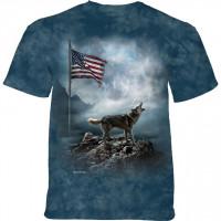American Storm Patriotic Wolf T-Shirt