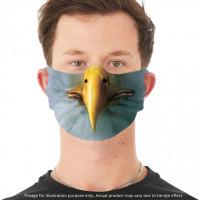 Adler Gesichtsbedeckung mit Ohrschlitzen