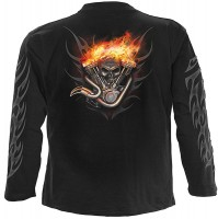 Wheels of Fire - Langarm Shirt schwarz