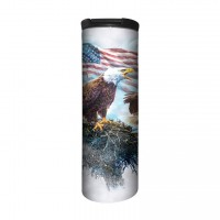 American Eagle Flag Thermobecher
