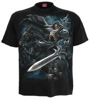 Grim Rider T-Shirt schwarz