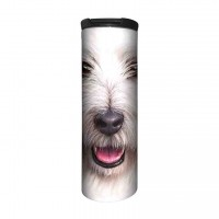 Big Face Terrier Thermobecher