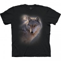 Adventure Wolf The Mountain Base T-Shirt