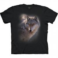 Adventure Wolf The Mountain Base T-Shirt