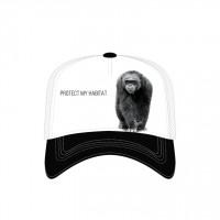 Chimp Protect My HabitatTrucker Kappe verstellbar