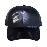 Gorilla Protect My Habitat Trucker Kappe verstellbar
