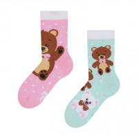 Good Mood Teddy Bear Cuddly Toy Kinder Socken