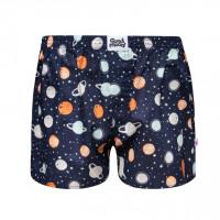 Good Mood Cosmos Mens Space Loose Boxer Shorts