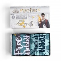 Harry Potter Gift Boxed 2 Pairs Erwachsenen Socken