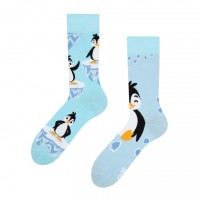 Good Mood Happy Penguin Erwachsenen Socken