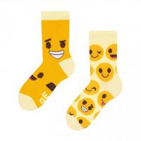 Good Mood Emoji Kinder Socken