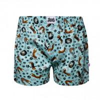 Good Mood Dachshund Mens Pet Dog Loose Boxer Shorts