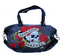 True Love Forever - Handtasche aus Lederimitat