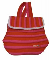 ZIPIT ZBP Back Pack: Bright Pink & Bubble Gum