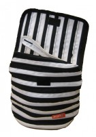 ZIPIT ZBP Back Pack: Black & White