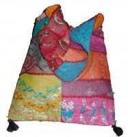 Indische Beuteltasche Schultertasche Sequin