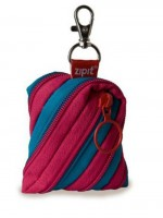 ZPT Twister Coin Purse - Caribbean Blue & Strawberry Pink