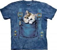 Kitty Overalls Kinder T-Shirt