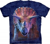 Charging Triceratops Kinder T-Shirt