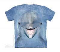 Dolphin Face Kinder T-Shirt