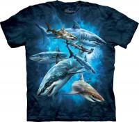 Shark Collage Kinder T-Shirt