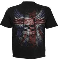 Union Wrath T-Shirt schwarz