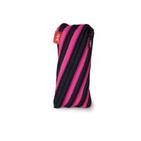 ZTN Neon Twister Pouch - Black & Magenta