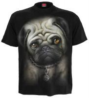 Pug Life - T-Shirt nur Frontdruck   AUSLAUFARTIKEL
