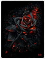 Burnt Rose Fleecedecke