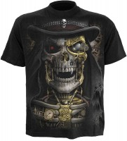 Steam Punk Reaper - T-Shirt schwarz