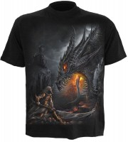 Dragon Slayer T-Shirt schwarz