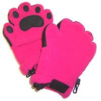 Fleece Handschuhe - Fuchsie (Kids)
