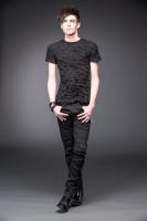 Schwarze Hose mit Schlitzen +Größe