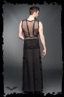 Langer Männerrock mit seitlichen Taschen und D-Ringen