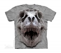 T-Rex Big Skull Kinder T-Shirt