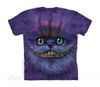 Big Face Cheshire Cat Kinder T-Shirt