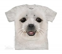 Big Face Baby Seal Kinder T-Shirt