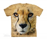 Big Face Cheetah Kindershirt lizensiert