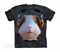 DJ Guinea Pig Kinder T-Shirt