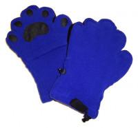Fleece Handschuhe - Kobaltblau (Erwachsene)