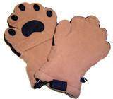 Fleece Handschuhe - Camel (Erwachsene)