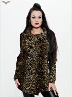 Elegante Leoparden-Jacke