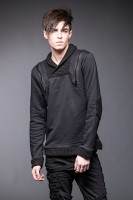 Pullover mit hohem Kragen und Reißverschlüssen